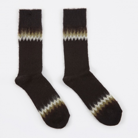 Napping TamJag Crew Sock - Black
