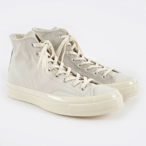 1970s Chuck Taylor All Star Hi Leather/Suede - Egret/Eg