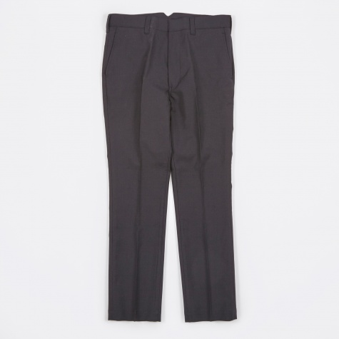 Wool Pant - Navy/White