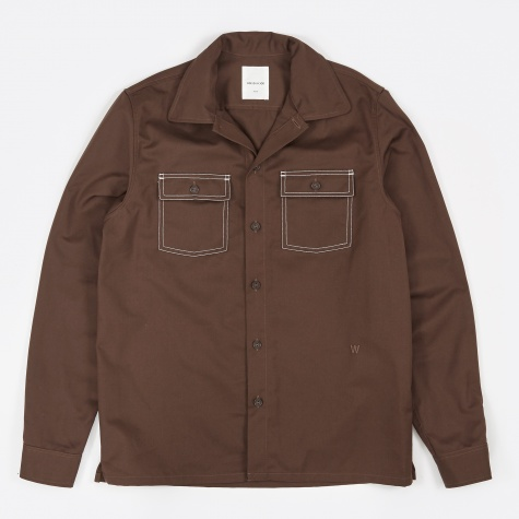 Marvin Shirt - Seal Brown