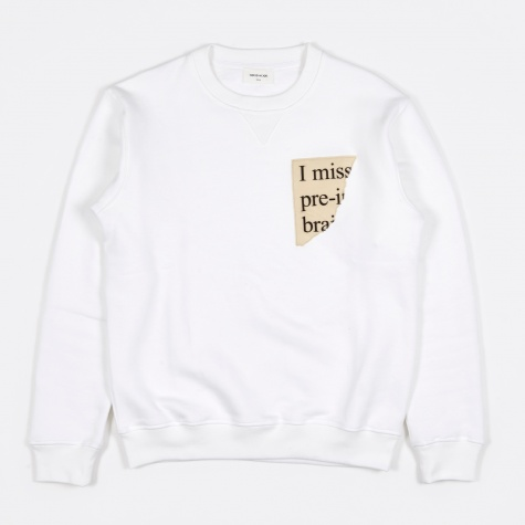 Houston Sweatshirt - Bright White