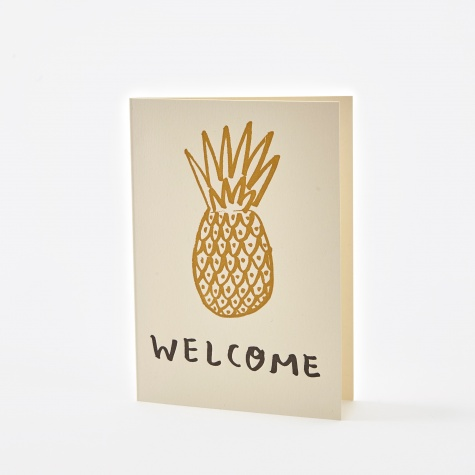 - Welcome Card