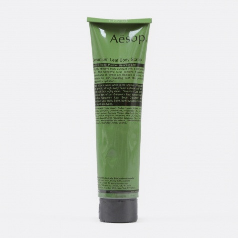 Geranium Leaf Body Scrub - 170ml