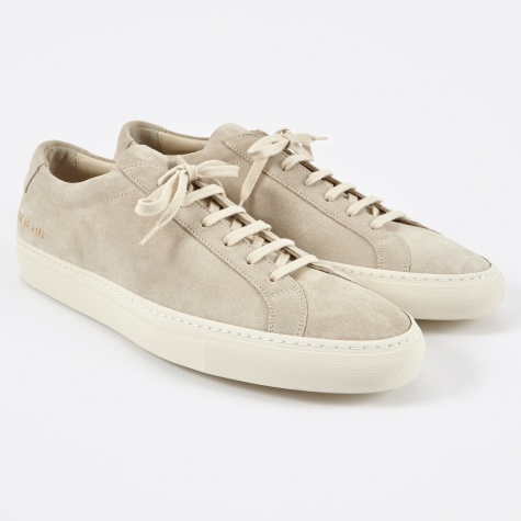 Original Achilles Low Suede - Off White