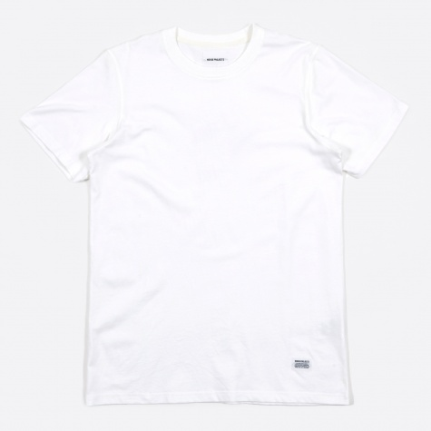 Niels Basic SS T-Shirt - White