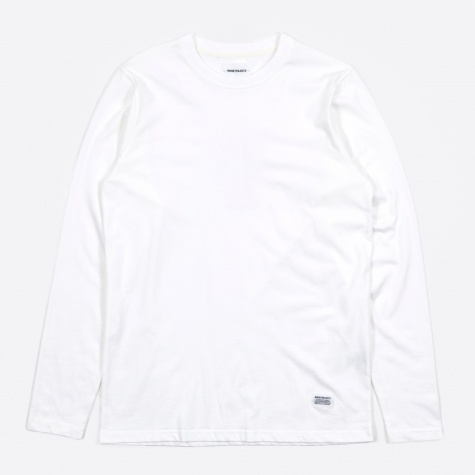 Niels Basic LS T-Shirt - White