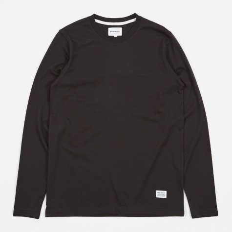 Niels Basic LS T-Shirt - Black