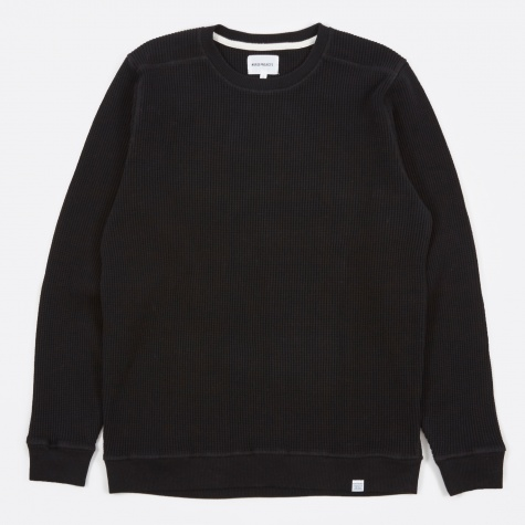 Vagn Compact Waffle Top - Black
