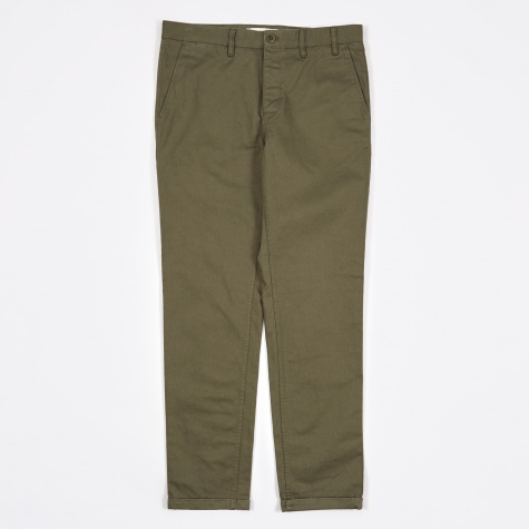 Aros Heavy Chino - Dried Olive