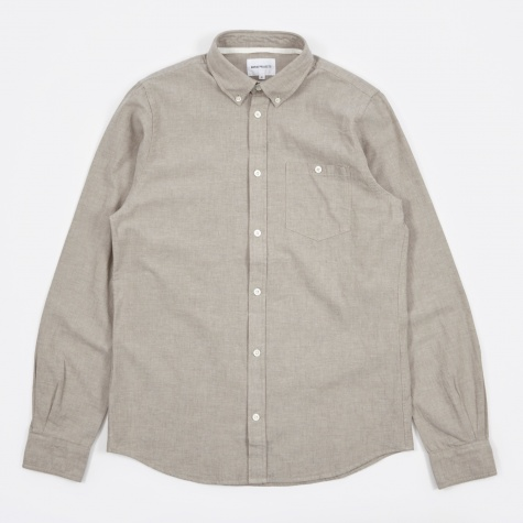 Anton Chambray Shirt - Khaki