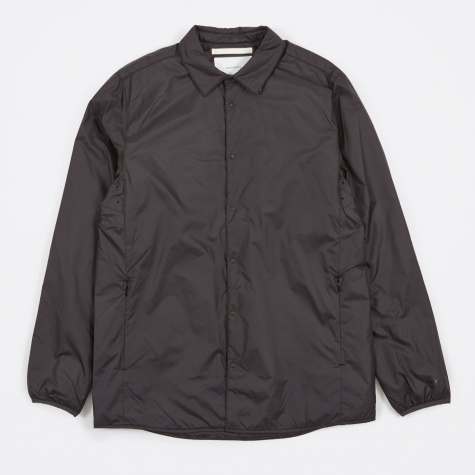 Jens Nylon Ripstop Shirt - Charcoal