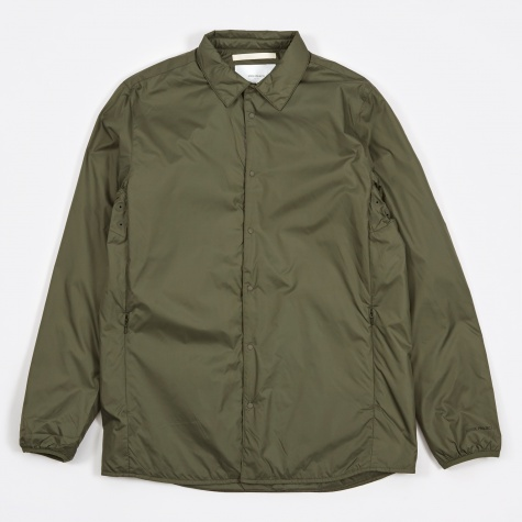 Jens Nylon Ripstop Shirt - Dried Olive