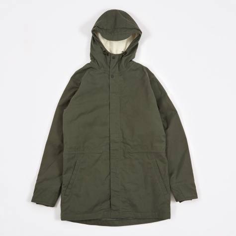 Lindisfarne Classic Jacket - Dried Olive