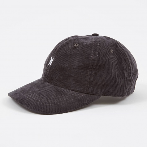 Norse Corduroy Sports Cap - Charcoal