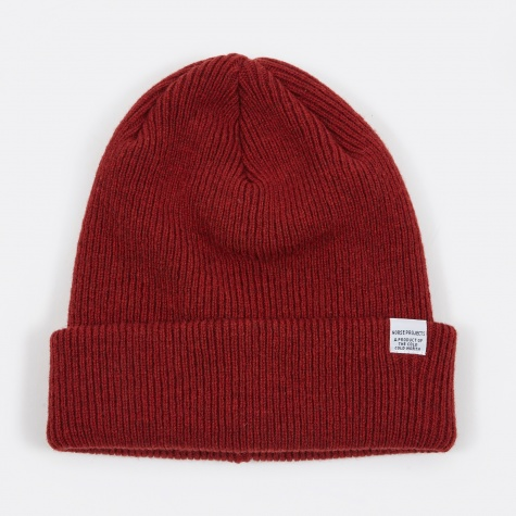 Norse Beanie - Red Clay