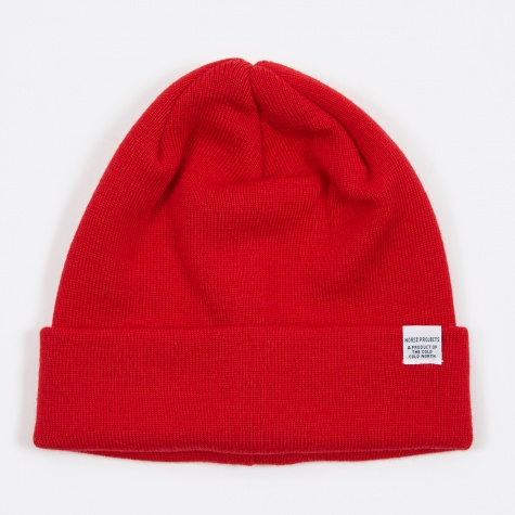Top Beanie - Oxide Red
