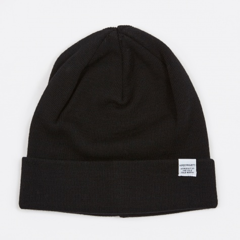 Top Beanie - Black