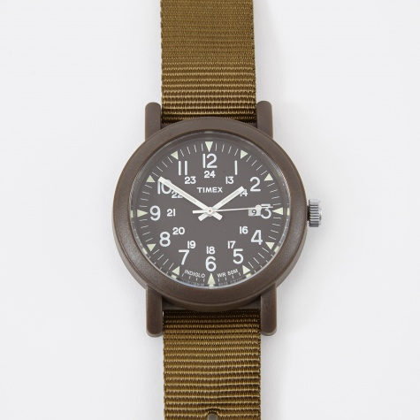 Archive Camper 40mm Watch - Military Green/Black