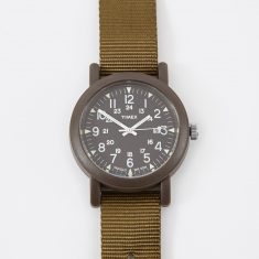 Timex Archive Camper 40mm Watch - Military Green/Black