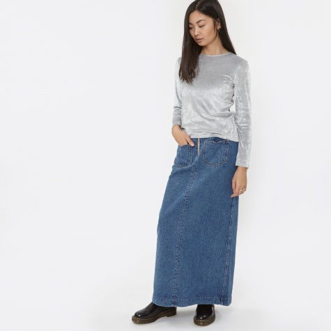 Maxi Denim Skirt - Denim