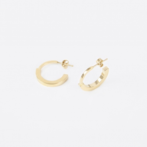 Earpiece PHASE L (Pair) - 18K Gold Plated