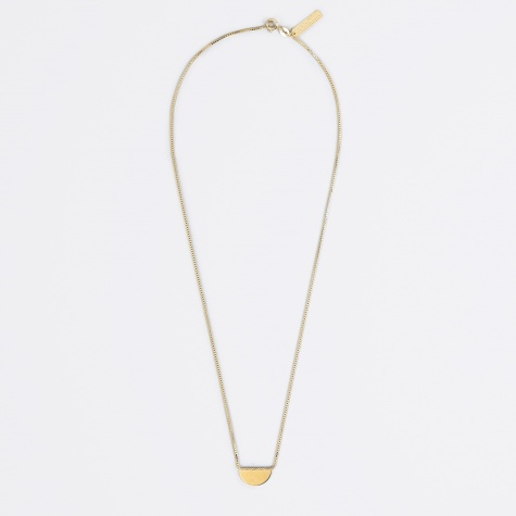 Necklace CONVEX - 18K Gold Plated