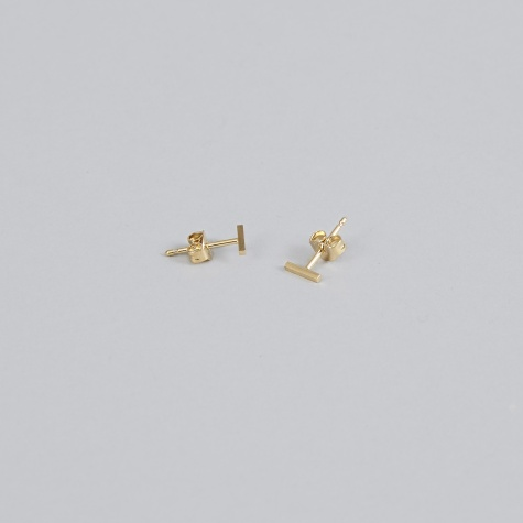 Earring FRONTIER S (Pair) - 18K Gold Plated