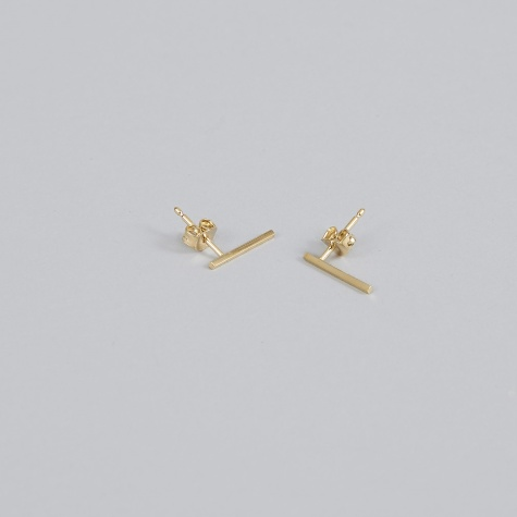 Earring FRONTIER L (Pair) - 18K Gold Plated