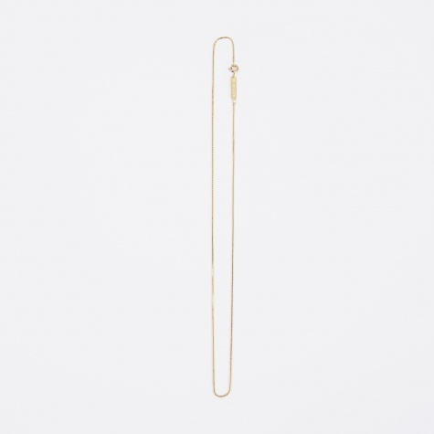FACET Square Necklace - 18K Gold Plated