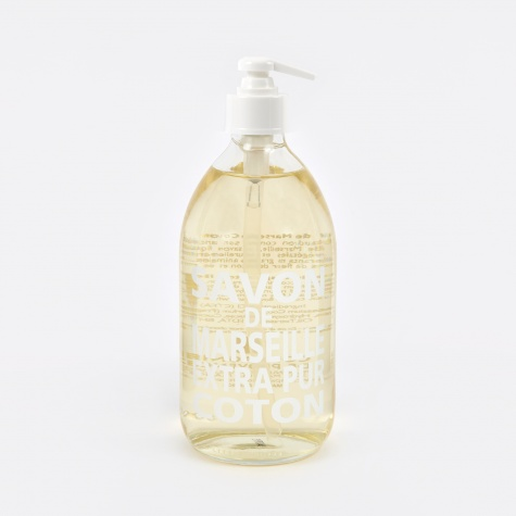 Liquid Marseille Soap 500ml Cotton Flower