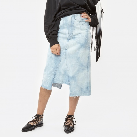 Holmes Skirt Bleach Denim - Bleach Denim