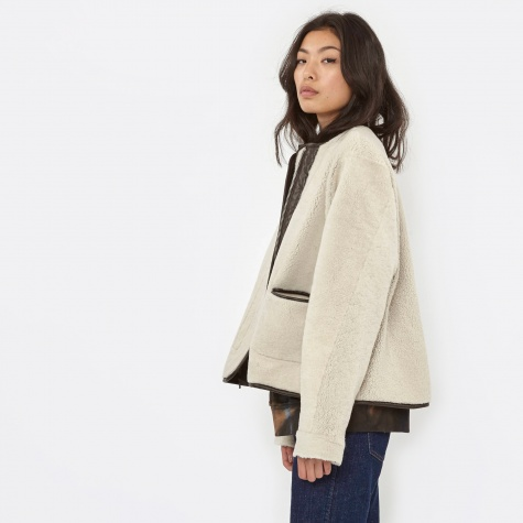 Reversible Marnie Coat - Brown