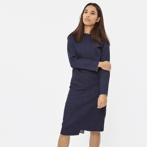 XY Dark Denim Dress - Blue