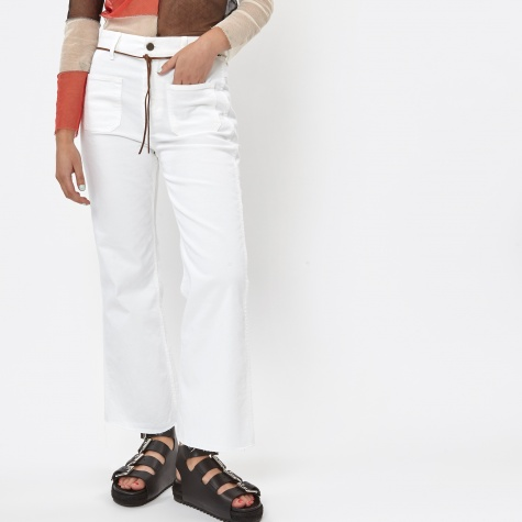 Indy Denim Jeans - White