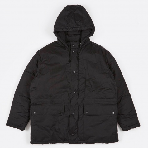 Puffed Parka - Washed Black
