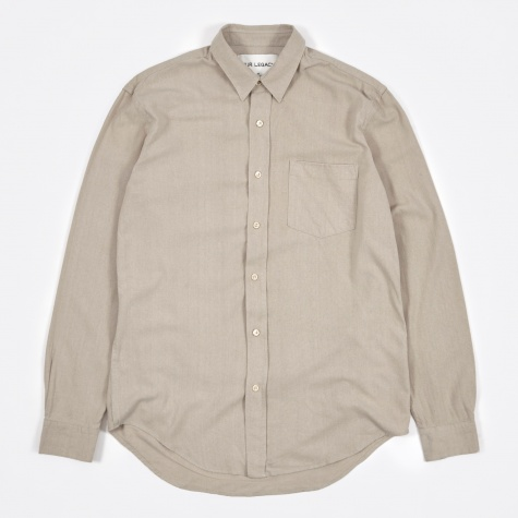 Classic Shirt - Cloud Grey Silk