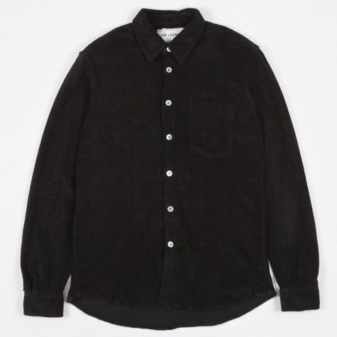 Terry Shirt - Black Terry