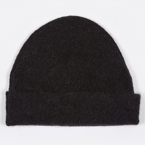 Knitted Hat - Black Needled