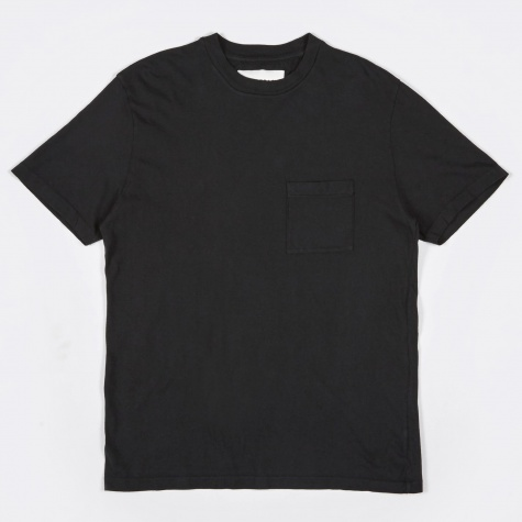 Pocket Tee - Washed Black Army Jersey