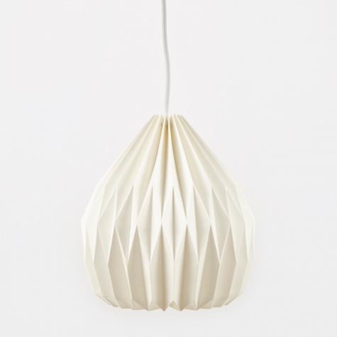 Lampshade Design No.2 - Pure White