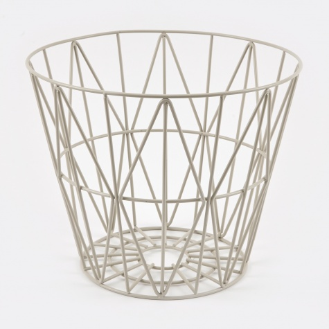 Wire Basket - Grey - Small