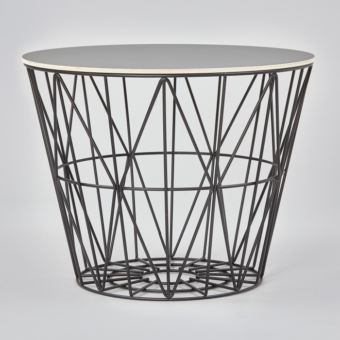 ferm living wire ferm living wire basket lille tr dkurv fra ferm living wire basket korb ferm. Black Bedroom Furniture Sets. Home Design Ideas
