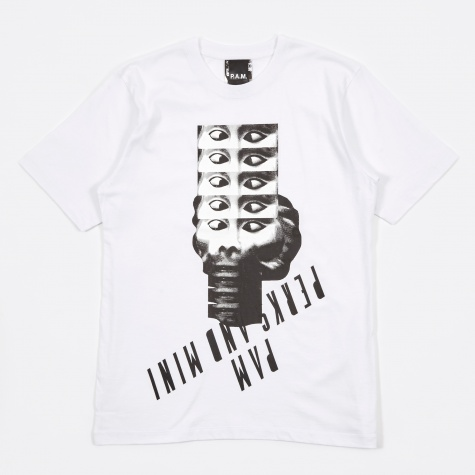 PAM Perks & Mini Monkey Head S/S Tee - White