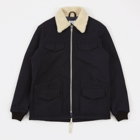 Walker 4 Pocket Jacket - Navy
