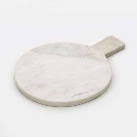 Chopping Board White Marble - Round