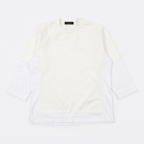 JohnUNDERCOVER JUR4806 3/4 Top - Off-White