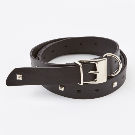 JohnUNDERCOVER JUR4W01 Stud Belt - Black