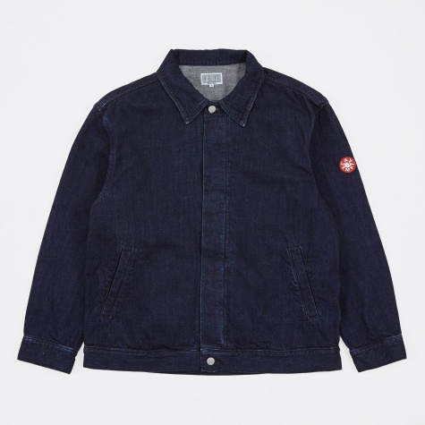 Minimal Denim Jacket - Indigo