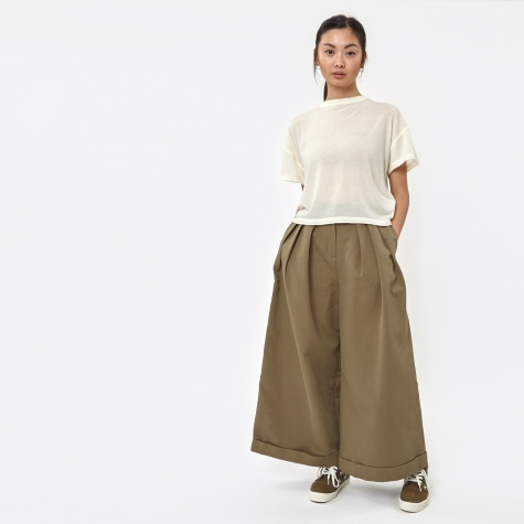 Triple Tuck Wide Pants - Shady Lane