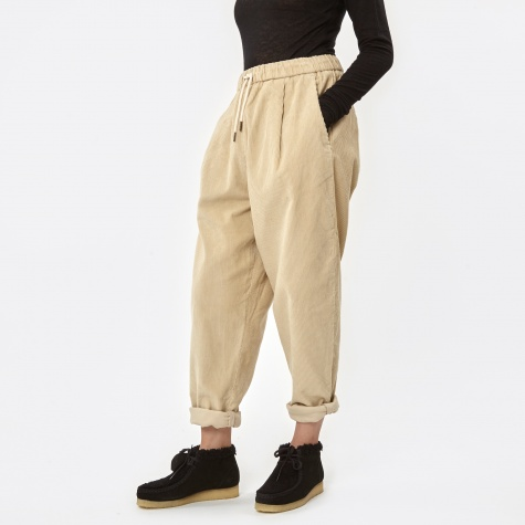 Corduroy Comfy Pants - Antique White